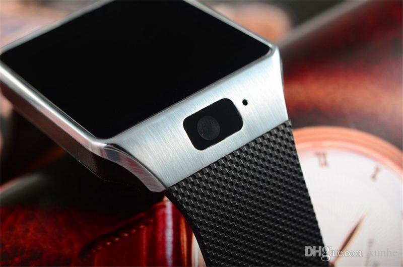 2018 venta caliente DZ09 reloj inteligente soporte TF / tarjeta Sim reloj con cámara reloj Bluetooth inteligente para teléfono inteligente con caja al por menor