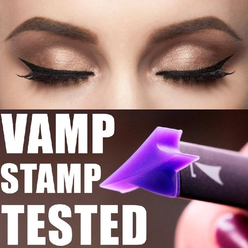 Eyeliner Stamp Tool Wing Style Eyeliner Vamp Stamp Cat Eye Beauty