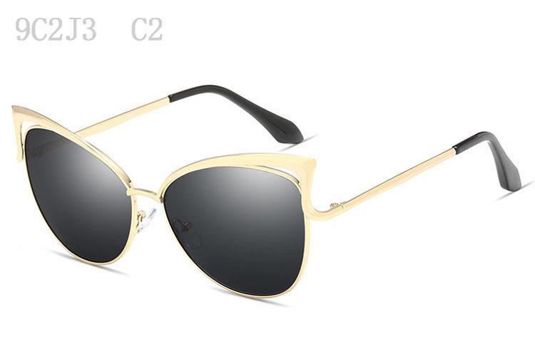 Kadınlar Lüks Bayan Sunglass Yüksek Kalite Ayna Güneş Gözlükleri Bayan Moda Büyük Boy Sunglases Tasarımcı Güneş 9C2J3 İçin Güneş Gözlüğü