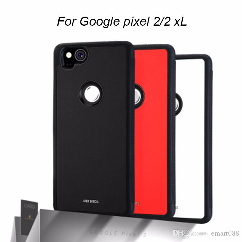 save off 54240 ee1a2 DUX DUCIS For Google Pixel 2 Card Holder Back cover For Google Pixel 2  Accessories DD Pixel2 XL Protective Cases Cards Pocket