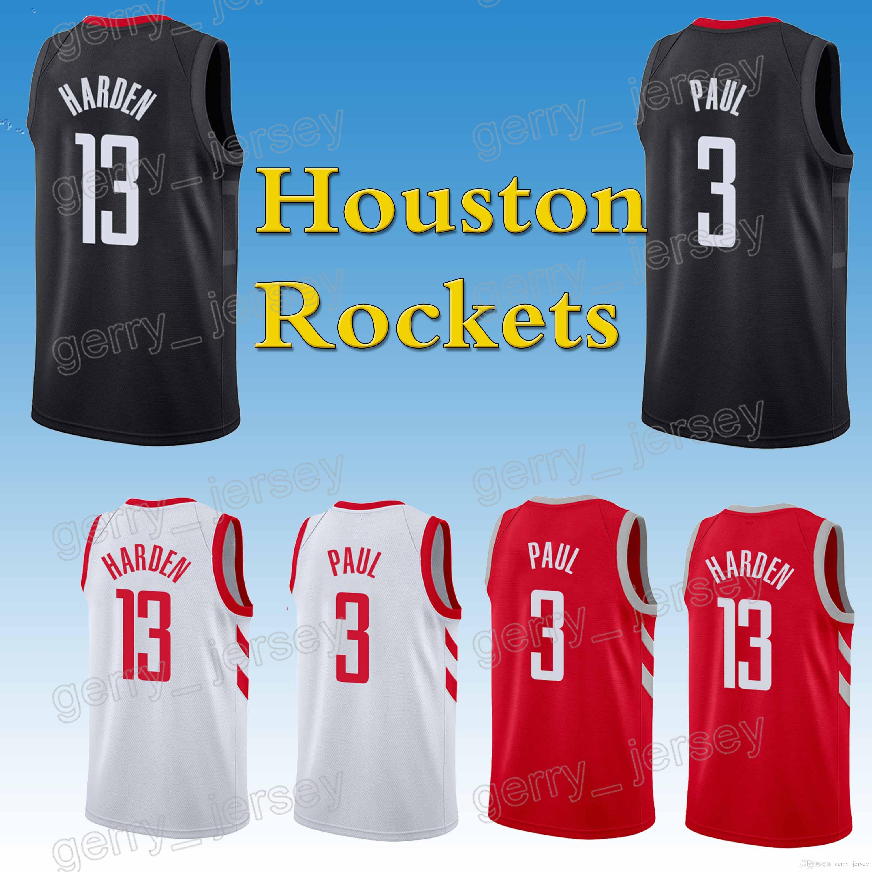 060c6566ba9 ... red road c4ebb 83308  australia houston rockets jerseys 3 chris paul 13  james harden high quality free shopping new hot