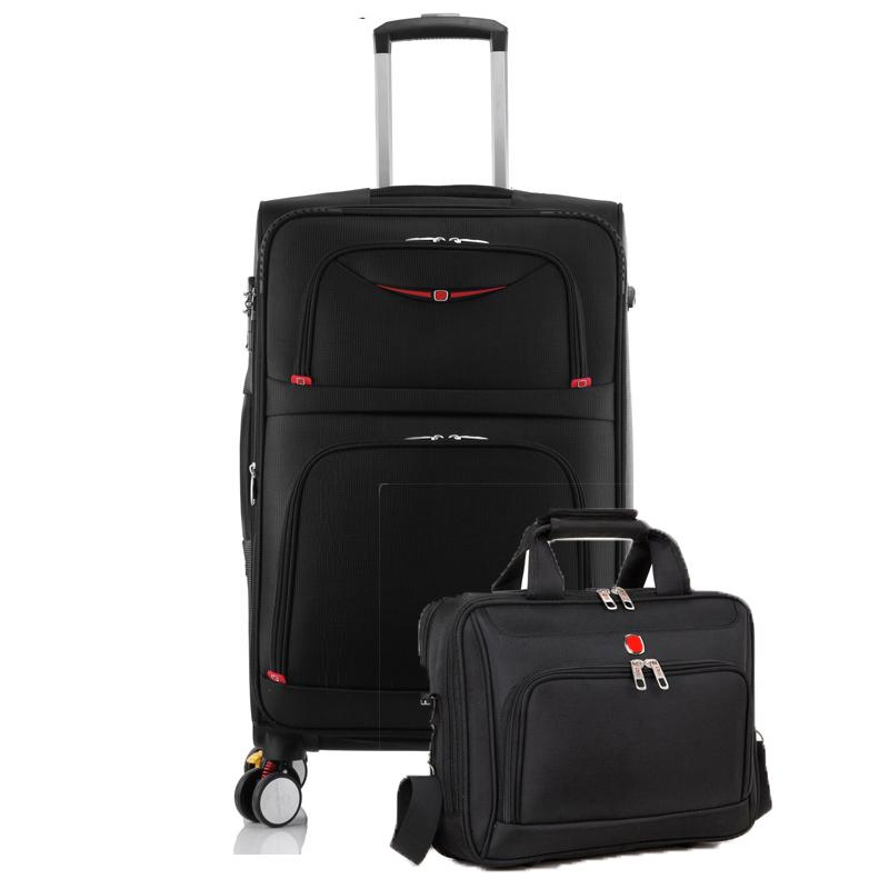 d1b8fdd4d943 28 Inch High Capacity Oxford Rolling Luggage Set Spinner Shoulder Suitcase  Wheels Password Trolley Laptop Travel Bag Suitcases Cheap Suitcases 28 Inch  High ...