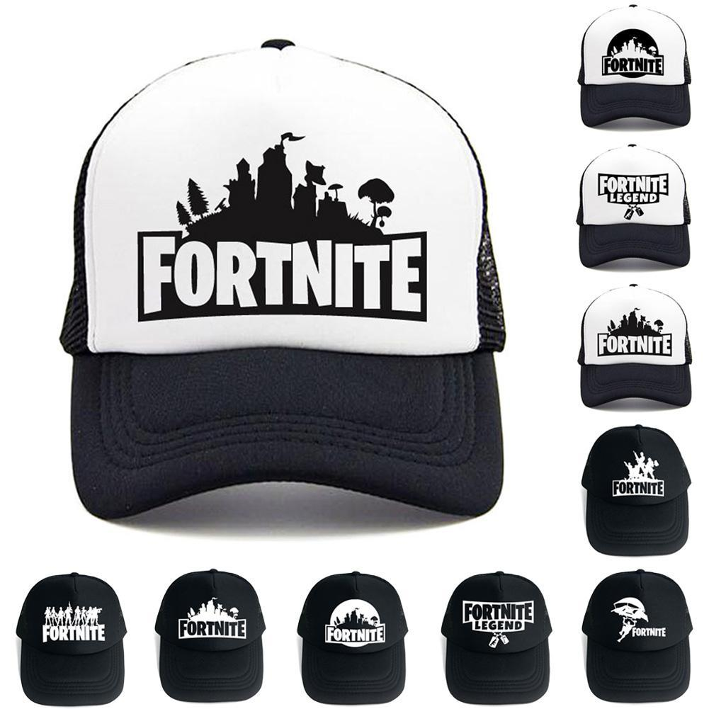 Hat 2018 New Fortnite Baseball Cap 3D Printed Baseball Cap Mesh Outdoor  Vacations Activities Sun Hat For Men Women Trucker Caps Flat Bill Hats From  ... b1690196ef2