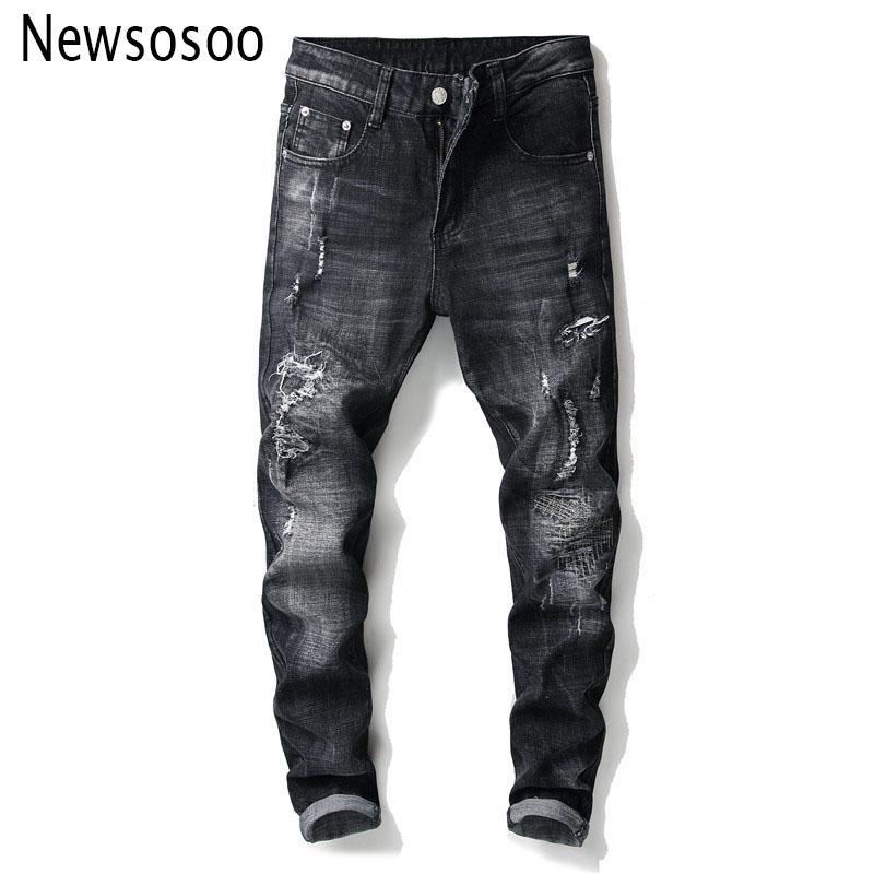 03ab5beb49d European American Style Fashion Brand Mens Jeans Luxury Men Straight ...