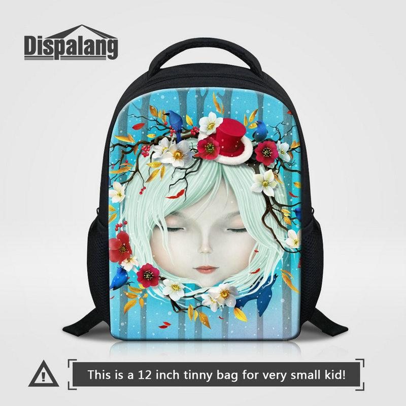Wholesale 12 Inch Mini Backpack For Baby Pretty Doll Cartoon Pattern School Bags  Brand Designer Bookbag For Kids Cheap Rucksack Child Rugtas Dakine ... 5706f00e569ac