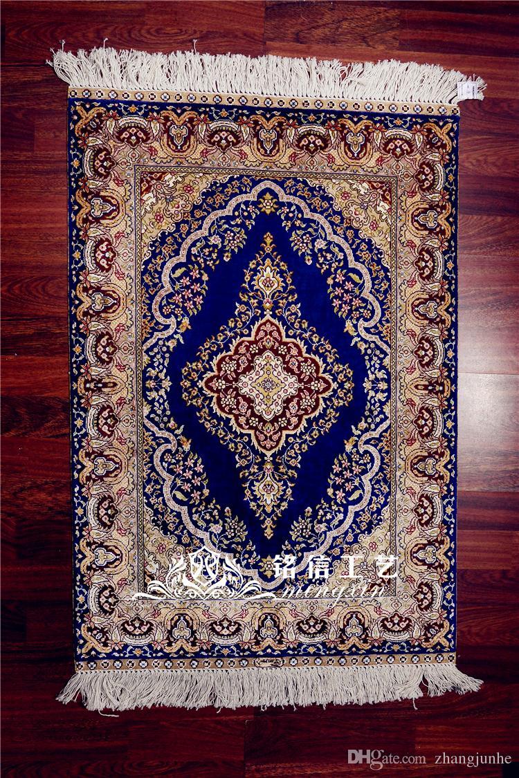 Grosshandel 2x3ft Seidenteppich Hand Weben Silk Teppich Turkei