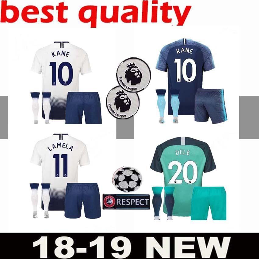 2e002b149 ... wholesale 2018 aaa spur 10 kane jersey adult suit soccer premier league  lamela 7 son 2019