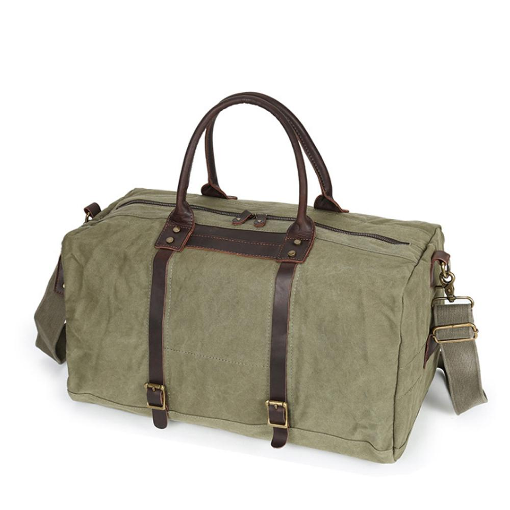 fb9724d62cb0 2018 New Men  Canvas Bag Retro Big Capacity Travel Bag Trend Water Poof  Luggage Fashion Multi Function Travel Duffle Childs Suitcase Dakine  Suitcase From ...