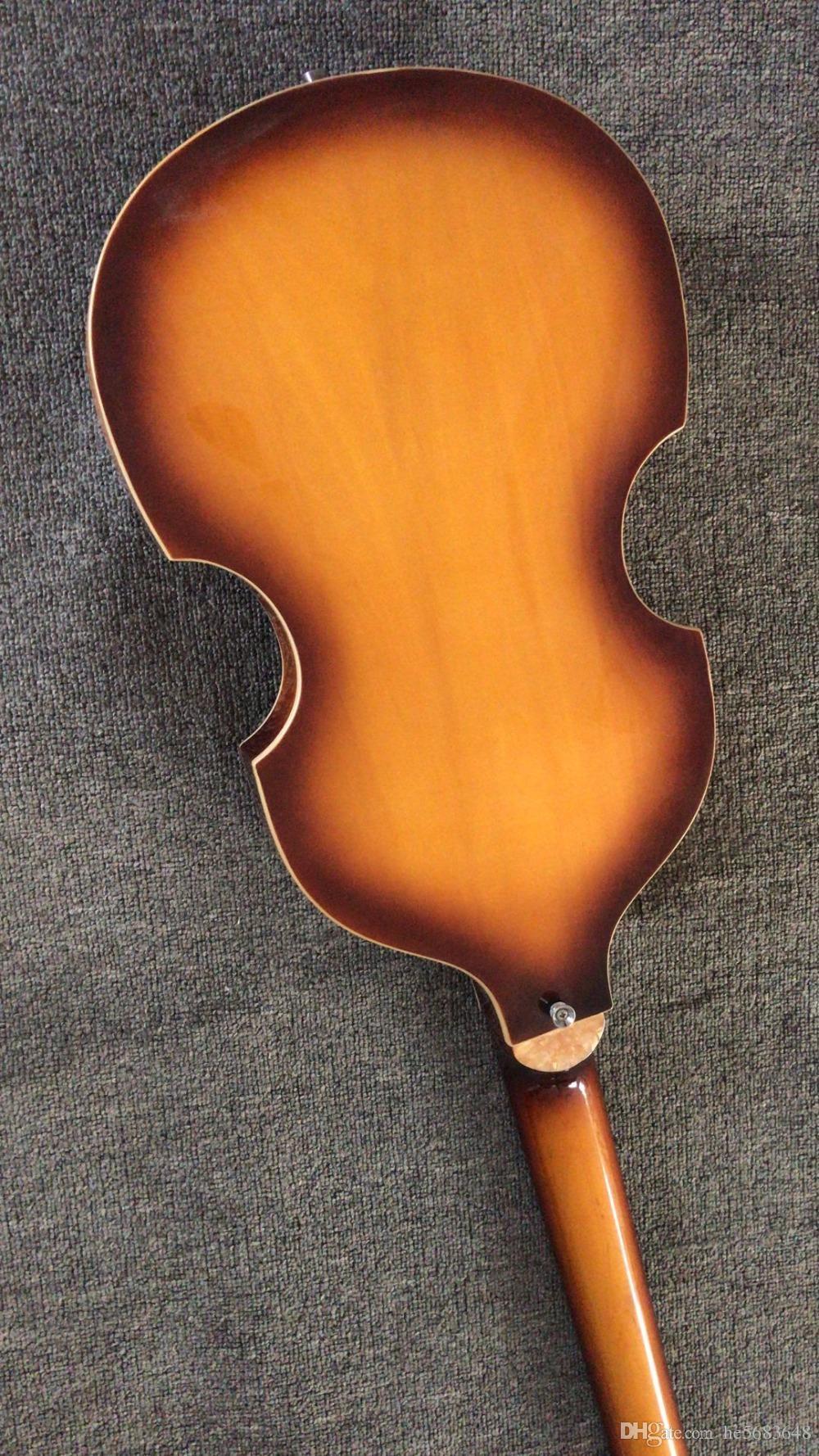 Venta al por mayor nuevo 4 cuerdas bajo guitarra CT contemporánea 500/1 Sunburst violín bajo guitarra de calidad superior