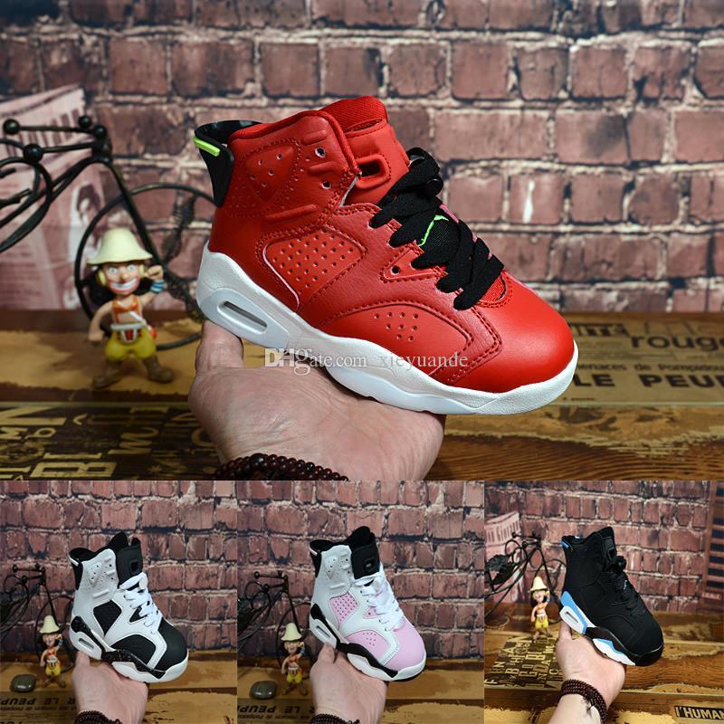 wholesale dealer a18ed a1696 Compre 2018 Nike Air Jordan 6 12 13 Retro Zapatos Para Niños Zapatos De  Baloncesto J12s Para Niños Zapatillas Deportivas De Alta Calidad Zapatillas  De ...