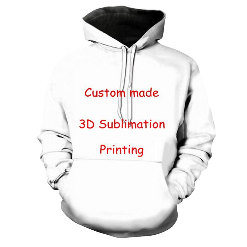 Compre Impresión 3D DIY Diseño Personalizado Para Hombre Ropa Para Mujer  Hip Hop Sudaderas Con Capucha Proveedores Al Por Mayor Para Dropship Gran  Tamaño XS ... 120294f7447