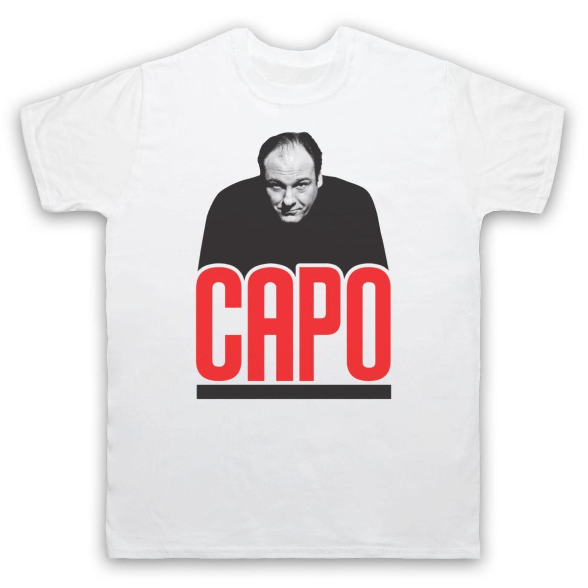 Mafia Capo Tony Soprano Unofficial The Sopranos T Shirt Mens Sizes