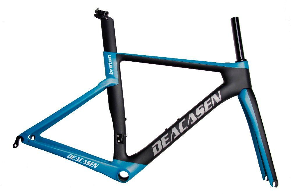 Carbon Road Bike Bike Frameset 2018 Di2 And Mechanical Super Light ...