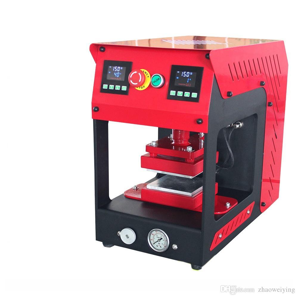 20T Rosin Dab Press Machine Dual Heating Plates Press Machine Rosin Oil  Extracting Kit Free Shipping DHL