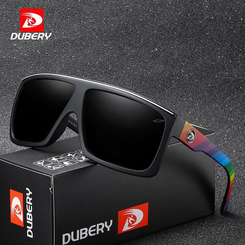 fc0286566e9b7 Compre DUBERY Marca De Design Polarizada Óculos De Sol Dos Homens De Condução  Tons Masculinos Retro Óculos De Sol Para Homens Espelho De Verão Moda UV400  ...