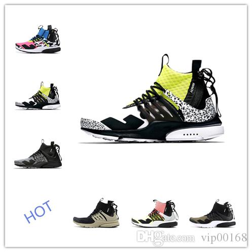 Compre Diseñador De Lujo Zip Presto Acrónimo Medio Mujer Zapatos Para  Correr Calcetines Dart Entrenadores Diseñador De Moda Fresco Gris Corredor  Rosa ... d0b6b30ab7e5