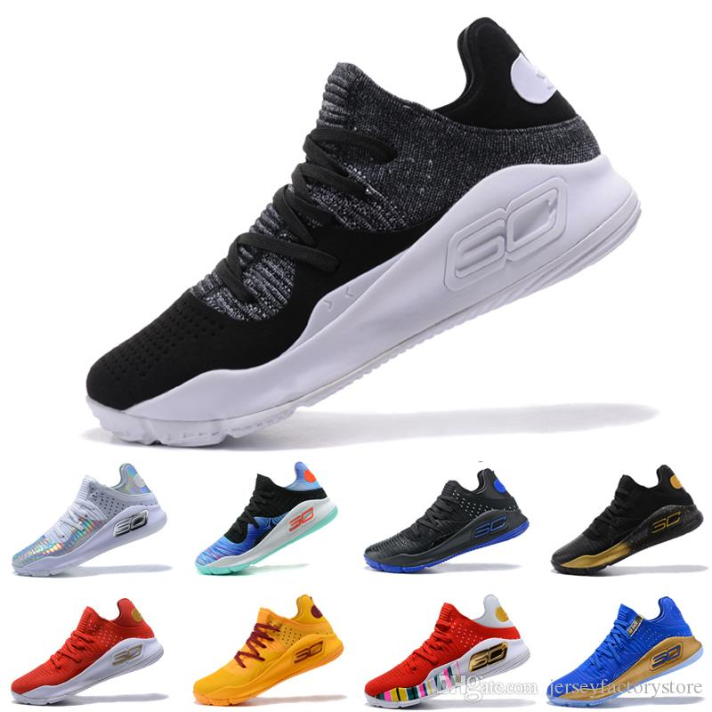 7ebdaec4e407 ... czech hot new under armour ua curry 4 low oreo mens basketball shoes  final curry4 athletic