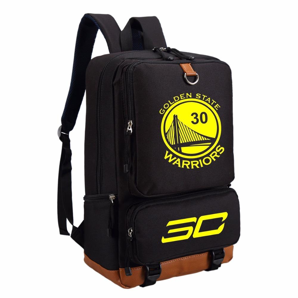 WISHOT Stephen Curry Backpack Fashion Casual Backpack Teenagers Men Women S  Student School Bags Travel Bag NO.30 Designer Backpacks College Backpacks  From ... f217f9de7a
