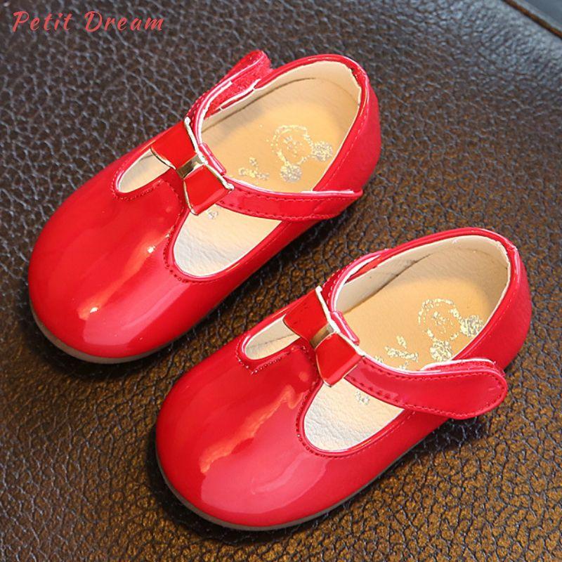 huge selection of 954d9 b0202 Petit Dream Cute Girls Scarpe da bambino Morbide e comode scarpe da  ginnastica in pelle per bambini Toddler Girls Scarpe da neonato in pelle  per ...