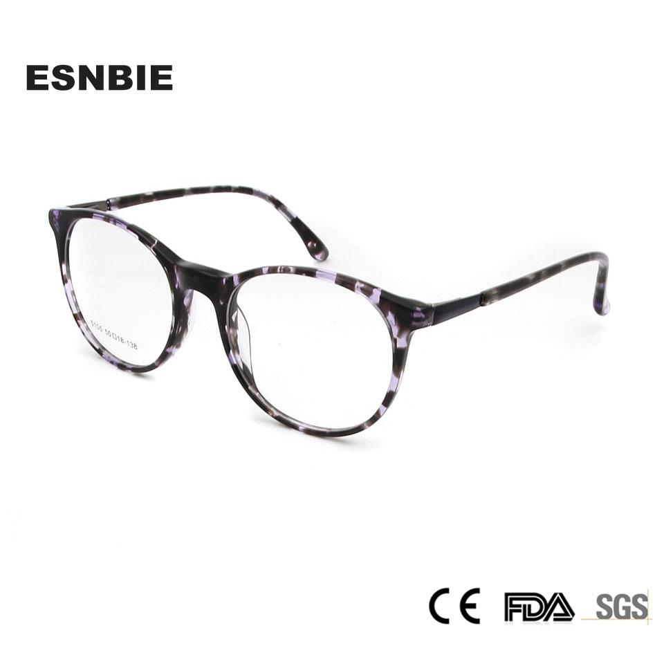 2eda480264 2019 ESNBIE TR90 Women S Eyeglasses 2018 Retro Round Eyewear Frame Women  Vintage Glasses Frame Men Spectacles Korea Glasses From Vintage66