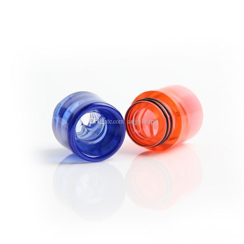 красочные пластиковые 810 капельного советы для e cigs Кеннеди rda капельного наконечника vape танки 810 нить распылители tfv8 мундштук новые изобретения