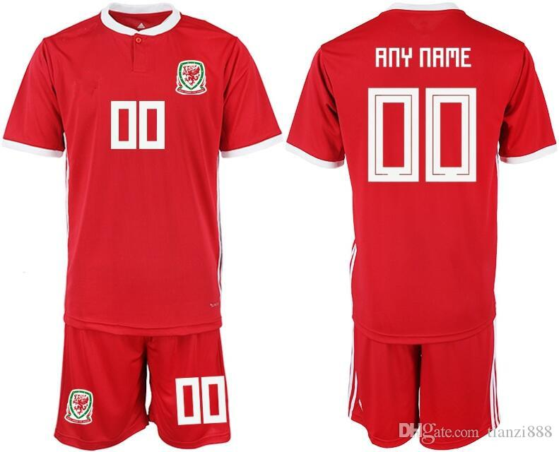 47c2a2e9d6c 2019 2018 2019 Wales Soccer Jersey Home 11 BALE GIGGS SPEED ROBSON KANU  RUSH CHESTER ALLEN Custom From Tianzi888