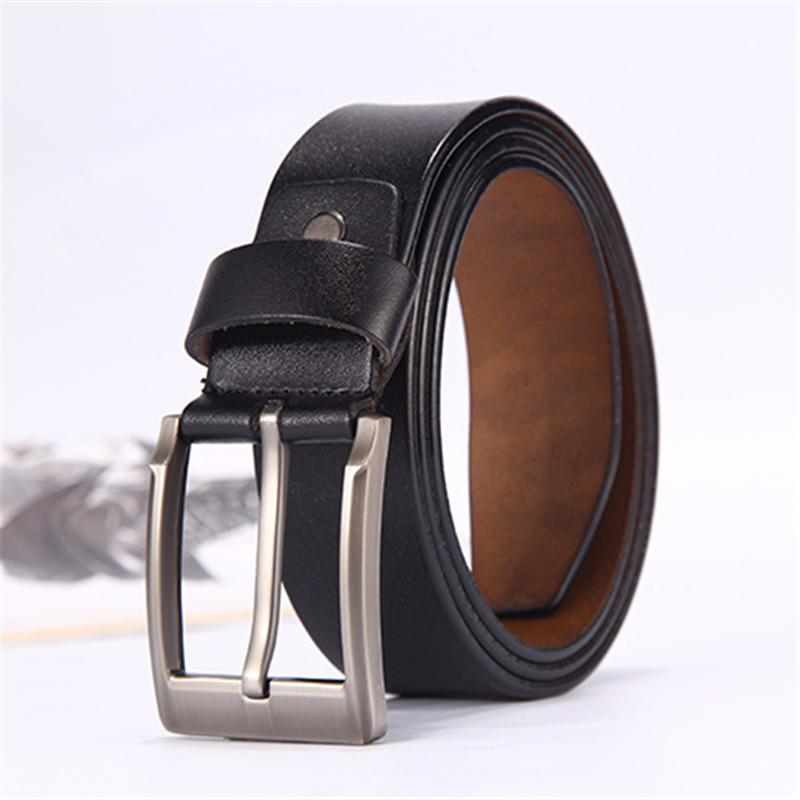 Smart Men High Quality Pu Leather Belt Luxury Designer Belts Men Cowskin Fashion Strap Male Jeans For Man Cowboy Men's Belts