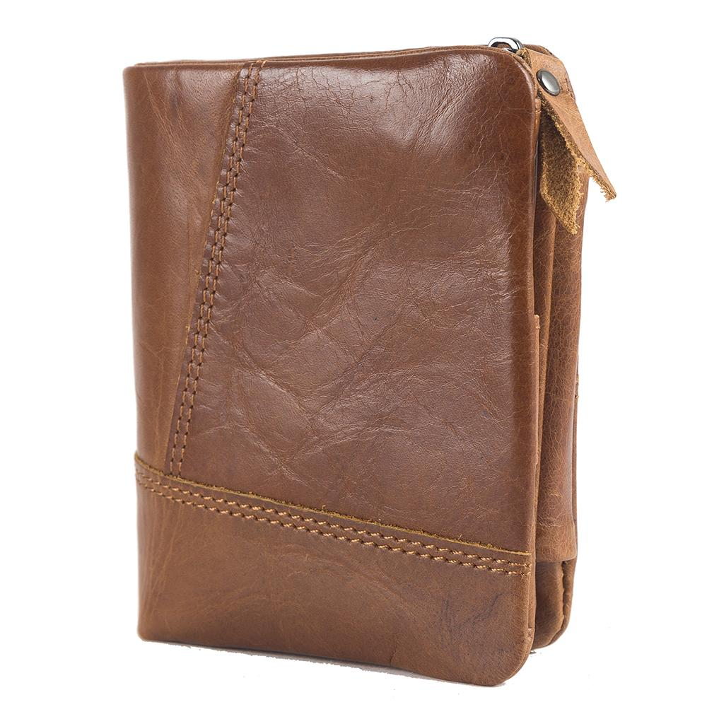 4736ed1895e71 Men Wallet Male Coin Purse Cow Leather Best Quanlity13 Card Position With  RFID Card Protect Holder Universal Coin Purse Men Steam Wallet Wallets From  ...