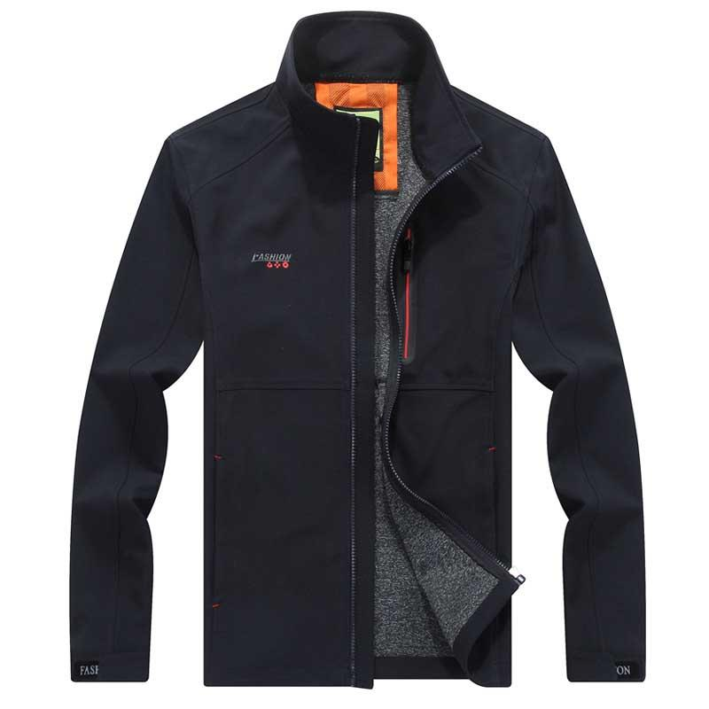 76d1d71476b New Fashion High Quality Smart Casual Jacket Korean Style Autumn Winter Men  Business Leisure Jacket and Coat Quick-Dry Plus Size
