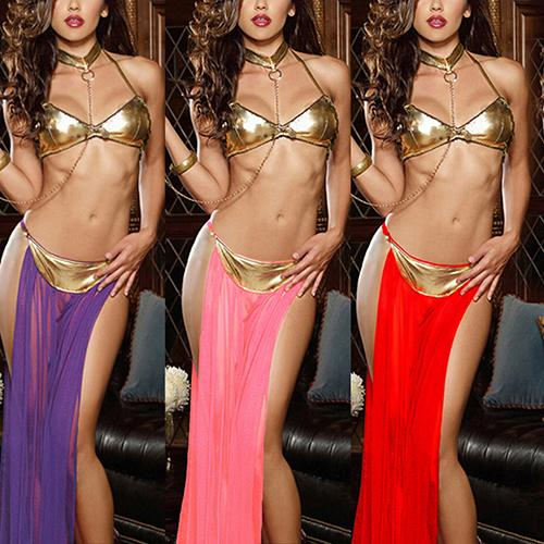 Lady's Fashion Sexy Club Dance Lingerie Costume Set Ramantic Babydoll Sleepwear New Arrival Hot Sale
