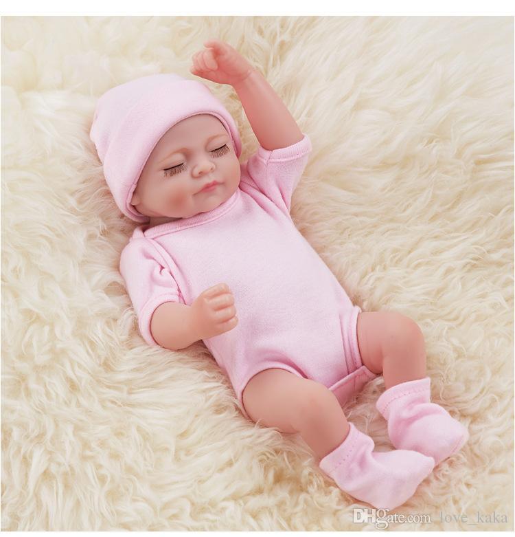 Reborn Newborn Baby Realike Doll Handmade Lifelike