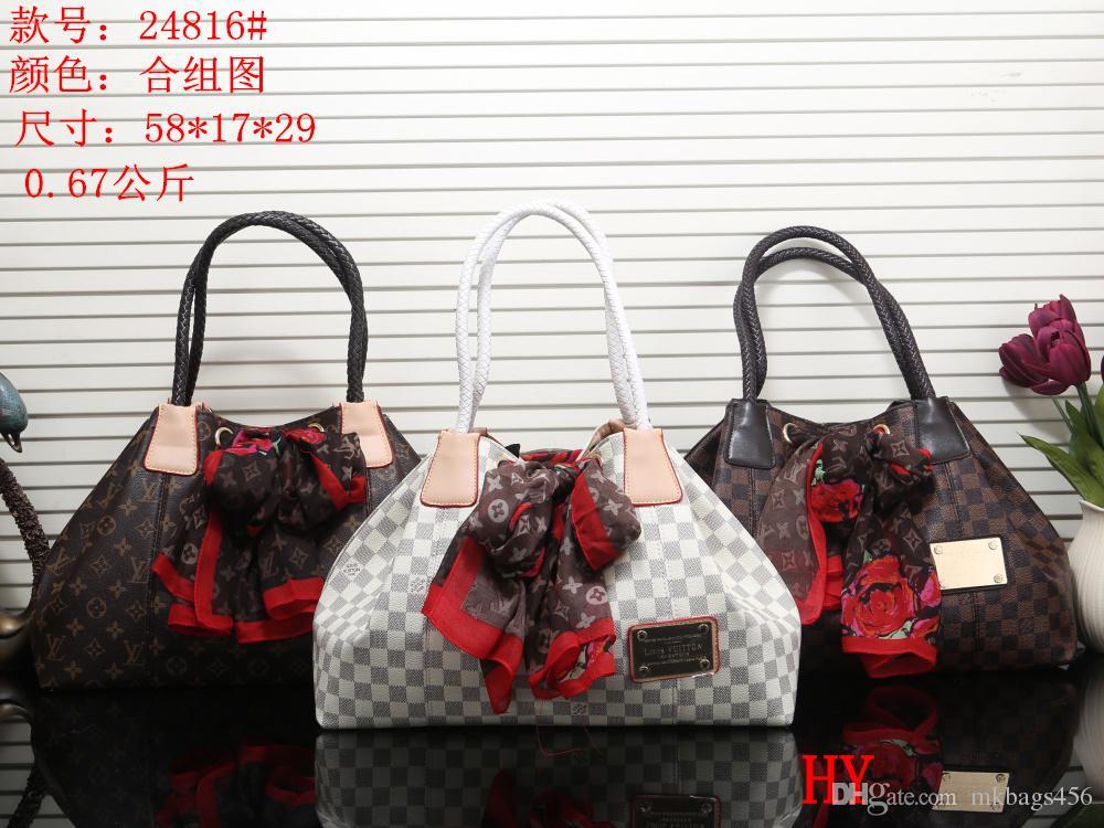 2018 NEW Style Luxury Brand Women Bags Handbag Famous Designer ... becba9dcb61b6