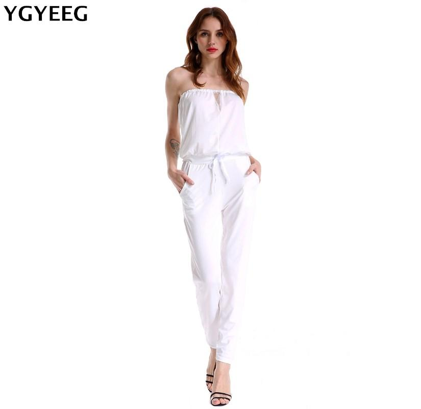 6a0839141cf8 YGYEEG 2018 Women Bodysuit Rompers Sashes Club Wear Rompers Womens Jumpsuit  Sexy Off Shoulder Full Length Bodycon Jumpsu Summer Jumpsuits Cheap  Jumpsuits ...