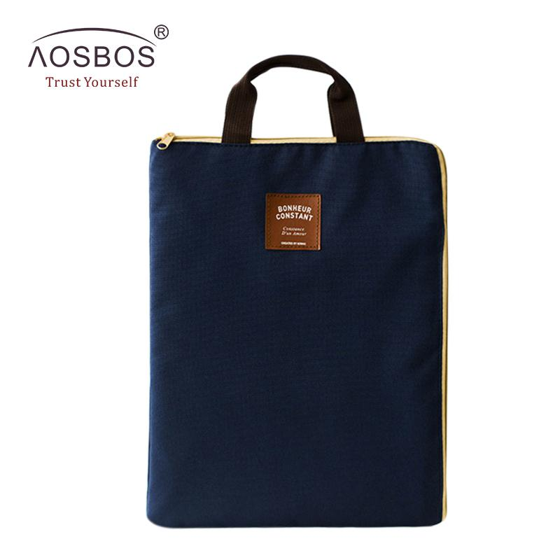 A4 Oxford File Folder Bag Men Portable Office Supplies Organizer Bags  Casual Ladies Tote Document Handbag For Women Cute Bags Purses For Women  From Shoe55 07c5e67e12622