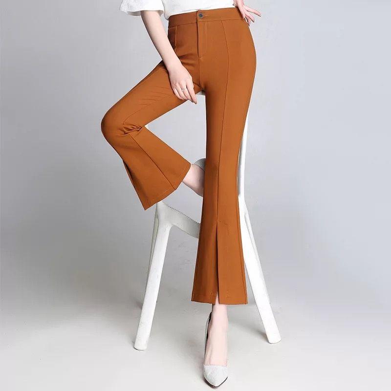 ca8d2ccbe7a Cheap Ladies Business Pants Suit Best Plus Size Women Harem Baggy Pants