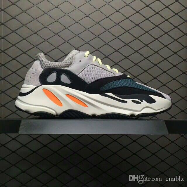 2018 New 700 Kanye West Wave Runner 700 Mens Women Running Shoes Design By Kanye West Season5 700s Sneakers size 36-46