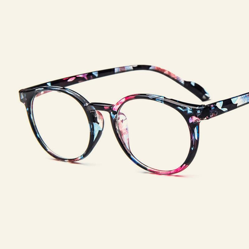 2019 Fashion Classic Men And Women Tide Round Frame Retro Glasses Small  Fresh Art Flat Glasses Frame Can Be Equipped With Myopia. 9cfe177e749