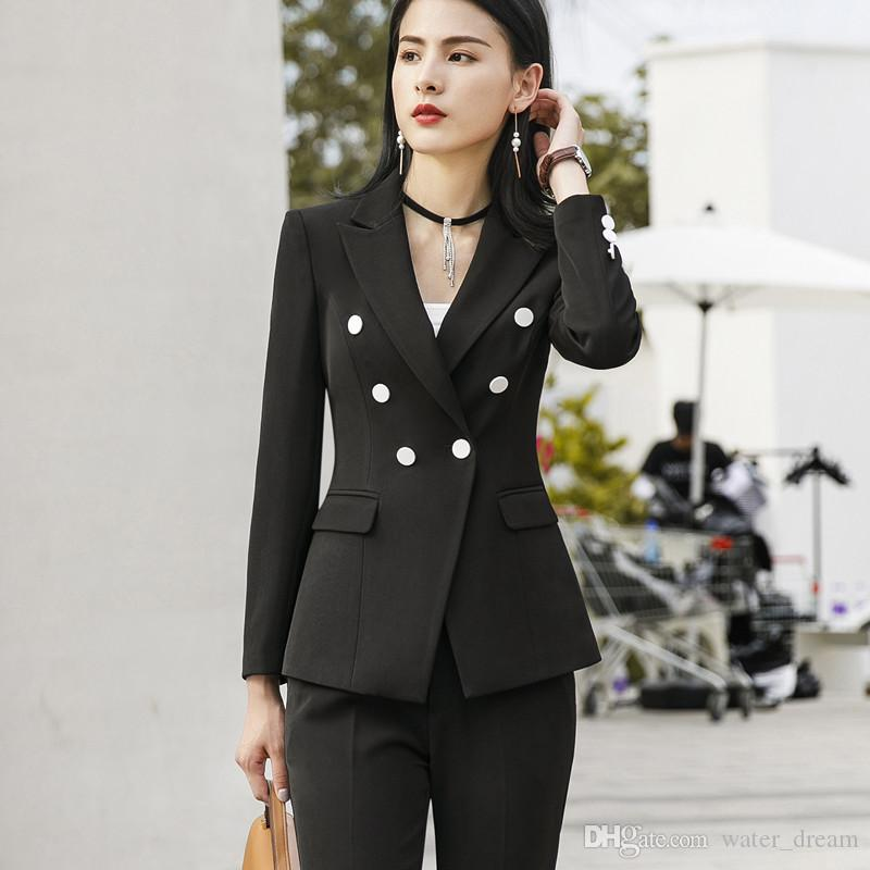 The New Best Selling Women S Women S Fashion Double Breasted Suit