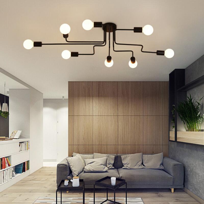 Großhandel Deckenleuchten Vintage Lampen Für Wohnzimmer Iluminacion ...