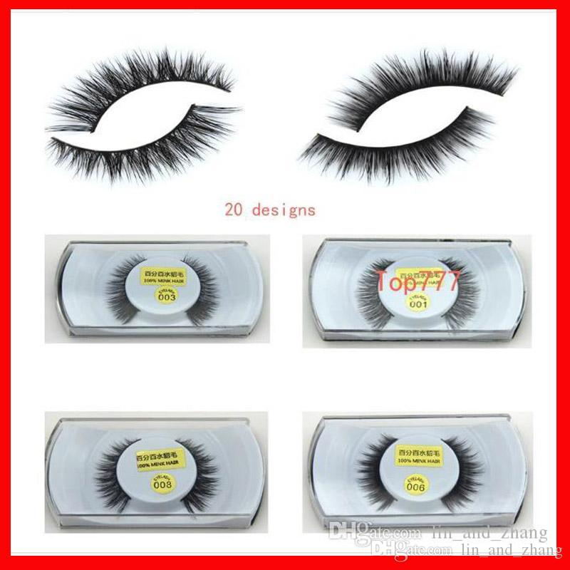 Mink False Eyelashes Eyes Makeup Handmade Mink Handmade Natural 3d