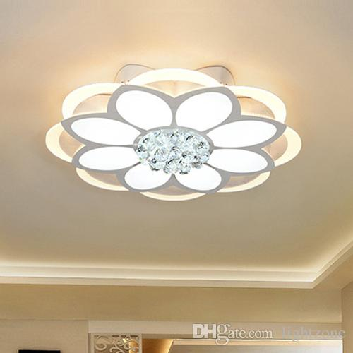 42660259bdc2 2019 New Style Modern LED Crystal Ceiling Lights Romantic Fancy Creative Ceiling  Light LED Ceiling Lamps For Bedroom Living Room Study Room From Lightzone,  ...