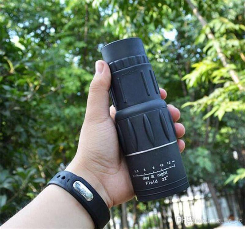 16 x 52 jumelles jumelles monoculaires zoom optique lentille optique télescope jour vision nocturne telescopio binoculaires pour la chasse en plein air KKA1131