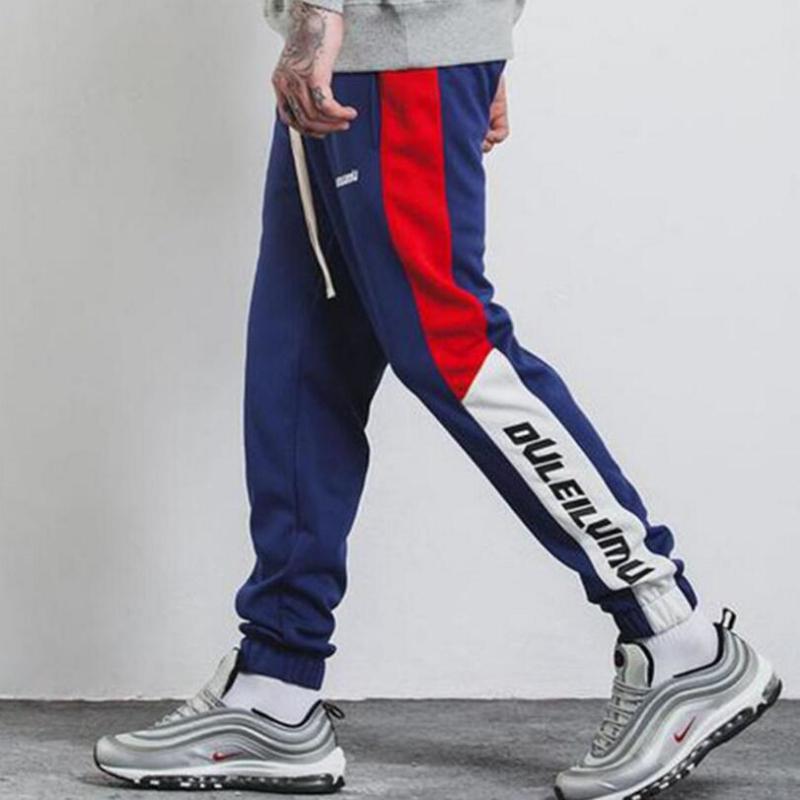 Sweatpants Men Fitness Joggers Pants Male (2)