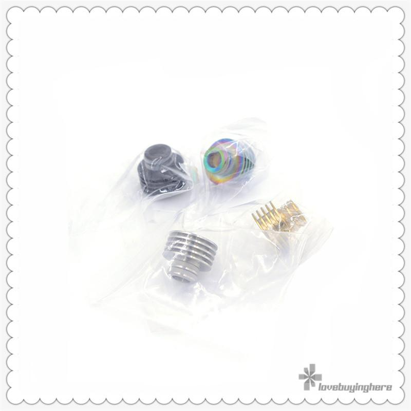 510 Thread Drip Tip Stainless steel 510 Drip Tip for Atomizers Vape Accessory Heat Sink Style Drip Tip Epacket Free