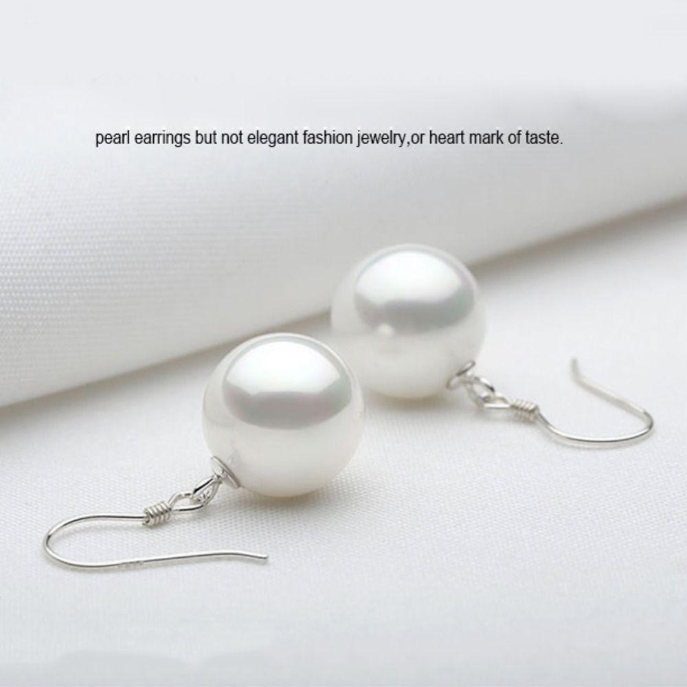5cafbb543efa4 Elegant Korean Earrings Vintage Imitation Pearl Drop Earrings For Women  Girls Ladies Classic Jewelry Long Dangle Earing Female
