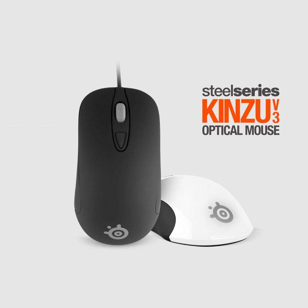 ec524faa7b3 Steelseries KINZU V3 Optical Gaming Wired Mouse Mice 4 Buttons Black &  White From Leight, $51.52   DHgate.Com
