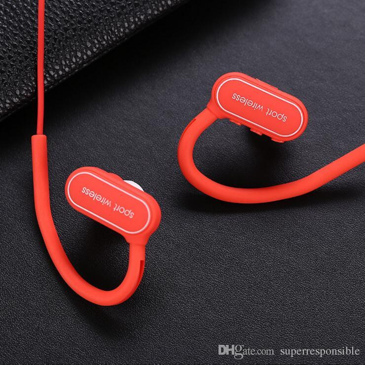Bluetooth Headphones G15 Wireless Sports Running Headsets Ear Hook Earbuds With Mic for Iphone Samsung with Retail Box