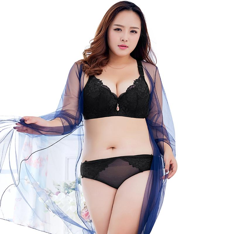83a34d4200 2019 Big Size Bras For Women Push Up Bra Underwire Lace Bra Plus Size Bras  Adjustable Padded Brassiere A B C D E Cups Lingerie Female From  Luzhenbao521