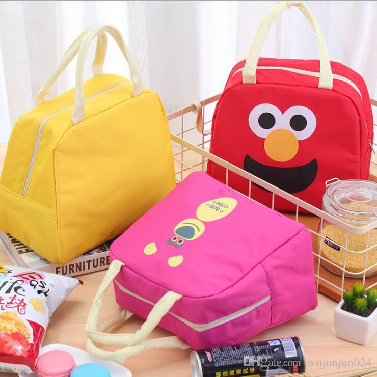 a58cc0f0b67d Cartoon Animal Lunch Bag Portable Insulated Cooler Bags Thermal Food Picnic  Lunchbox Women Kids Lancheira Lunch Box Tote