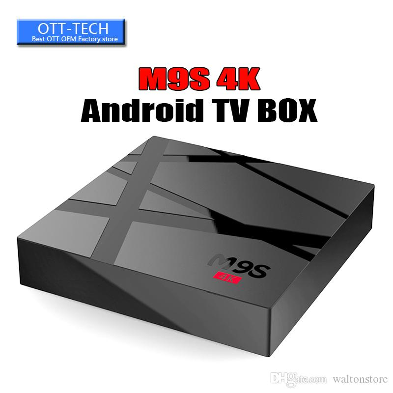M9S V3 4K 1GB 8GB Android6 0 OTT TV Box HDR H 265 HEVC 3D video play RK3229  Internet TV media player better MXQ PRO 4K